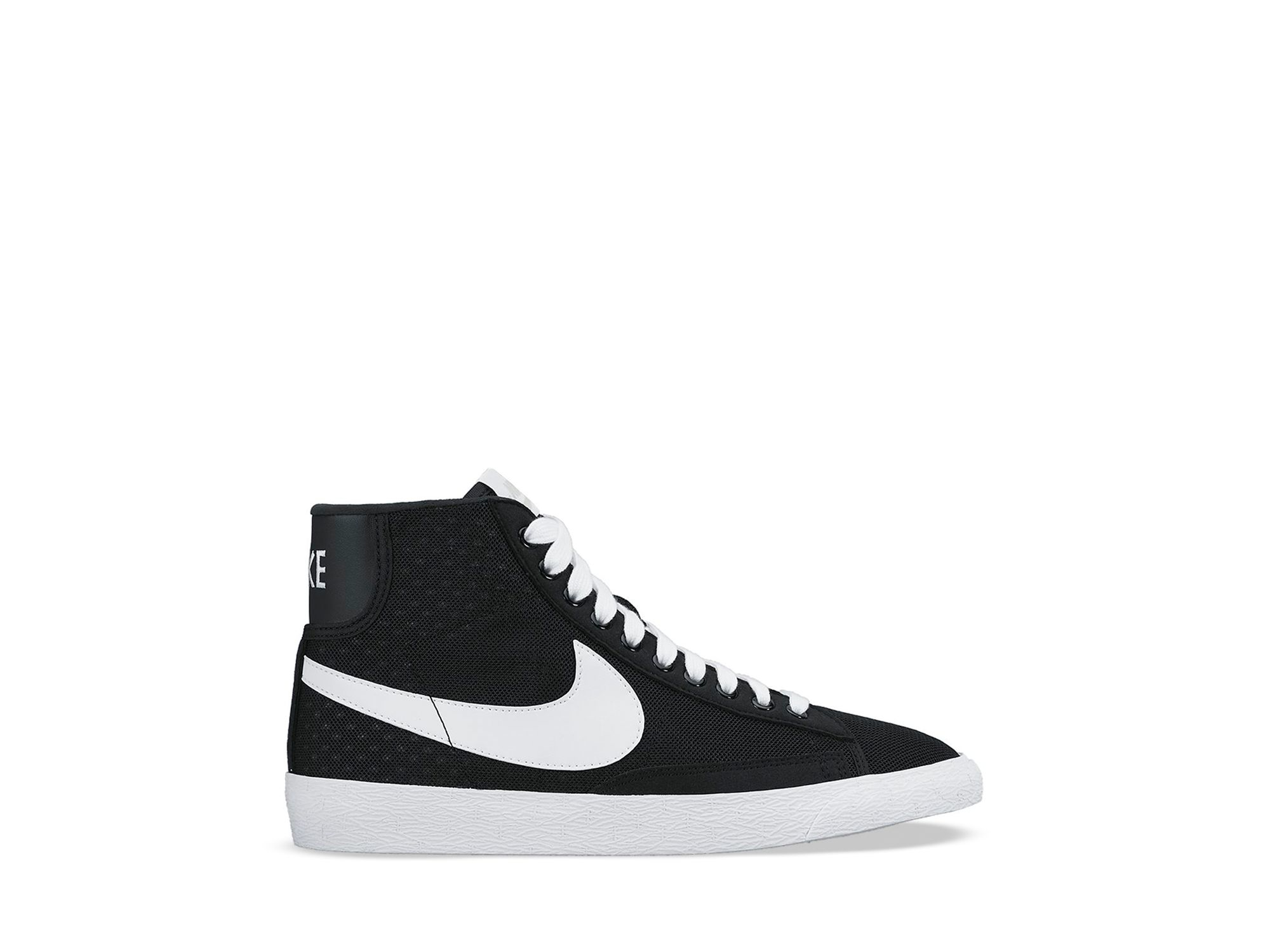 promo code 3f659 e99c7 ... Lyst - Nike Lace Up High Top Sneakers - WomenS Blazer Mid Me ...