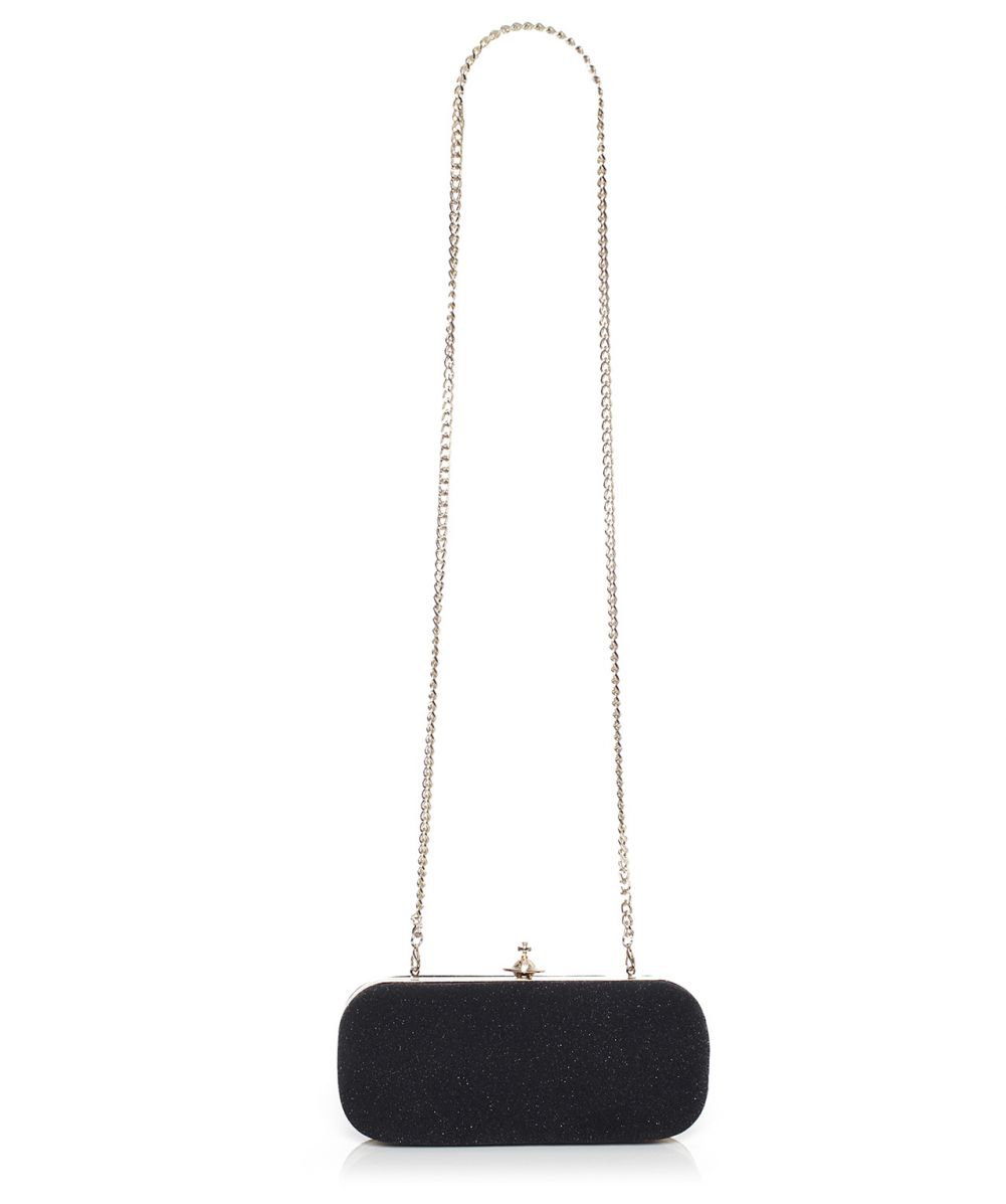 f0bf03fb74908 Lyst - Vivienne Westwood Long Angel Clutch in Black