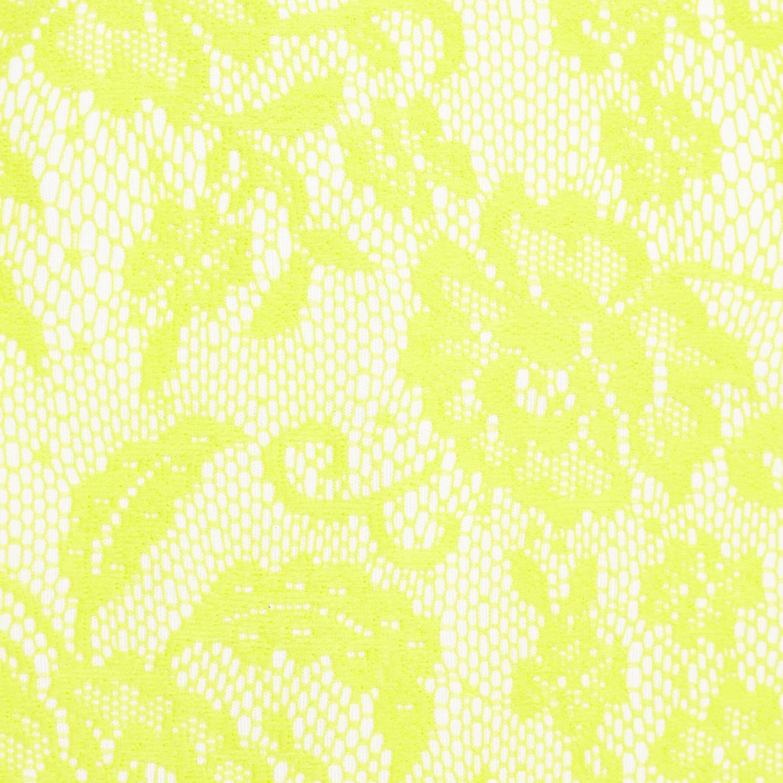 River island yellow bandeau dress white