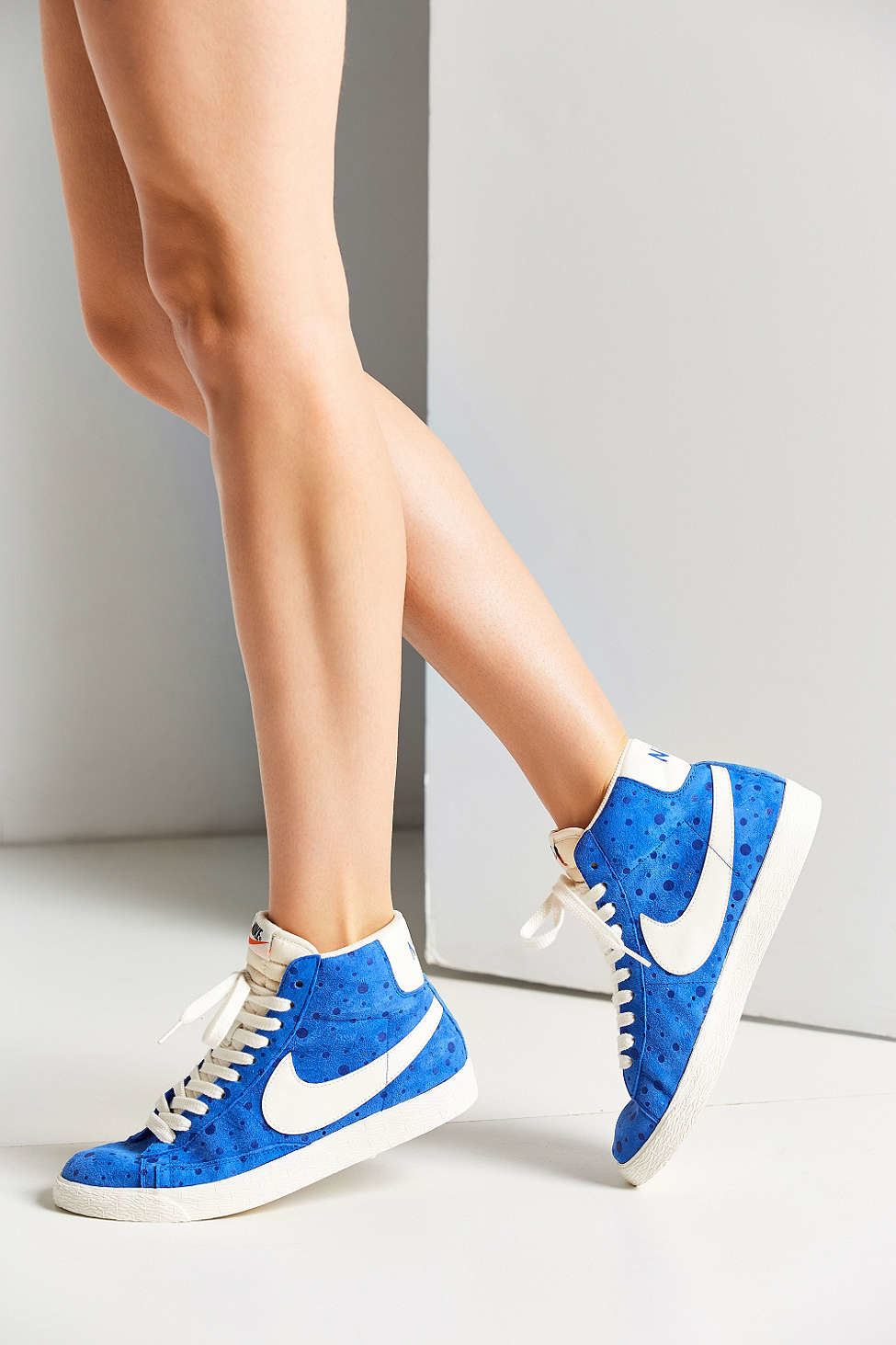 36f788213451b ... usa lyst nike womens blazer mid suede vintage sneaker in blue 3585f  2c67c