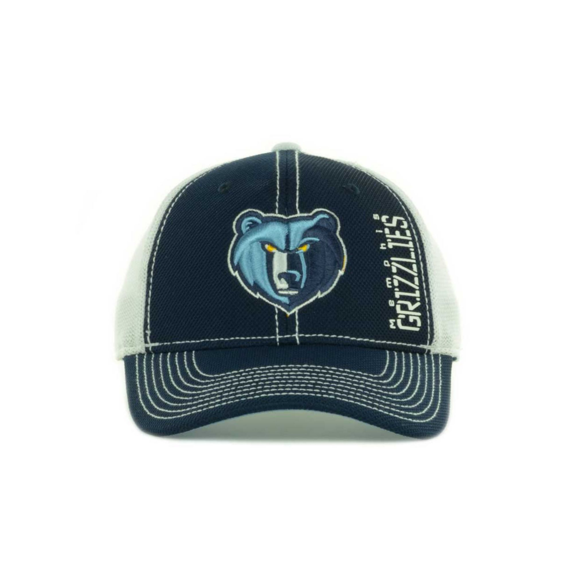 sports shoes eda25 61d3c Lyst - Adidas Memphis Grizzlies Nba Zone Mesh Cap in Blue for Men