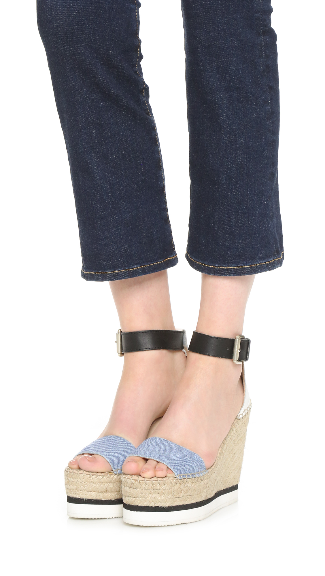 low price cheap online See by Chloé Espadrille Wedge Sandals free shipping 2014 new Dska3YknI