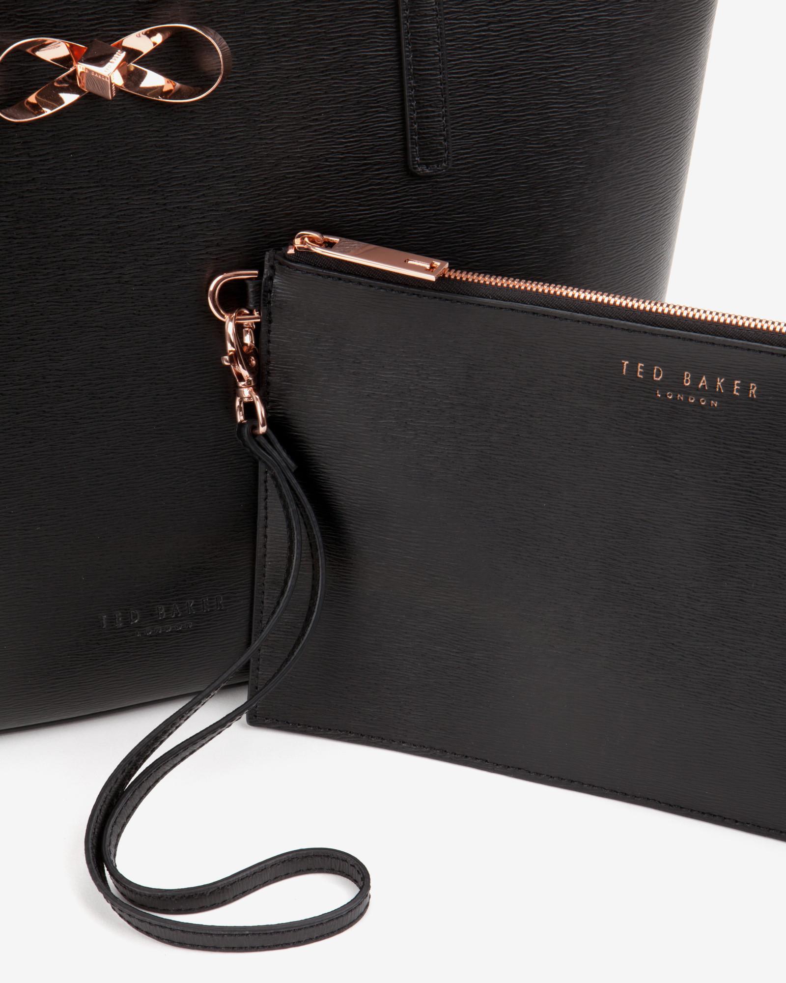 Ted Baker Handbag Rose Gold Hardware