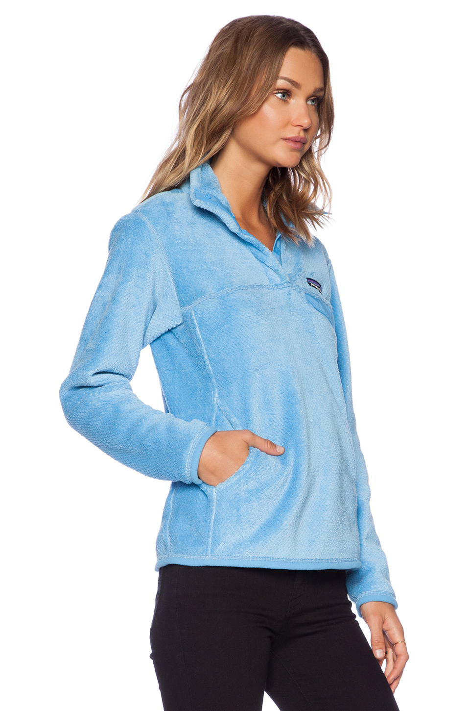 Lyst Patagonia Re Tool Snap T Pullover In Blue