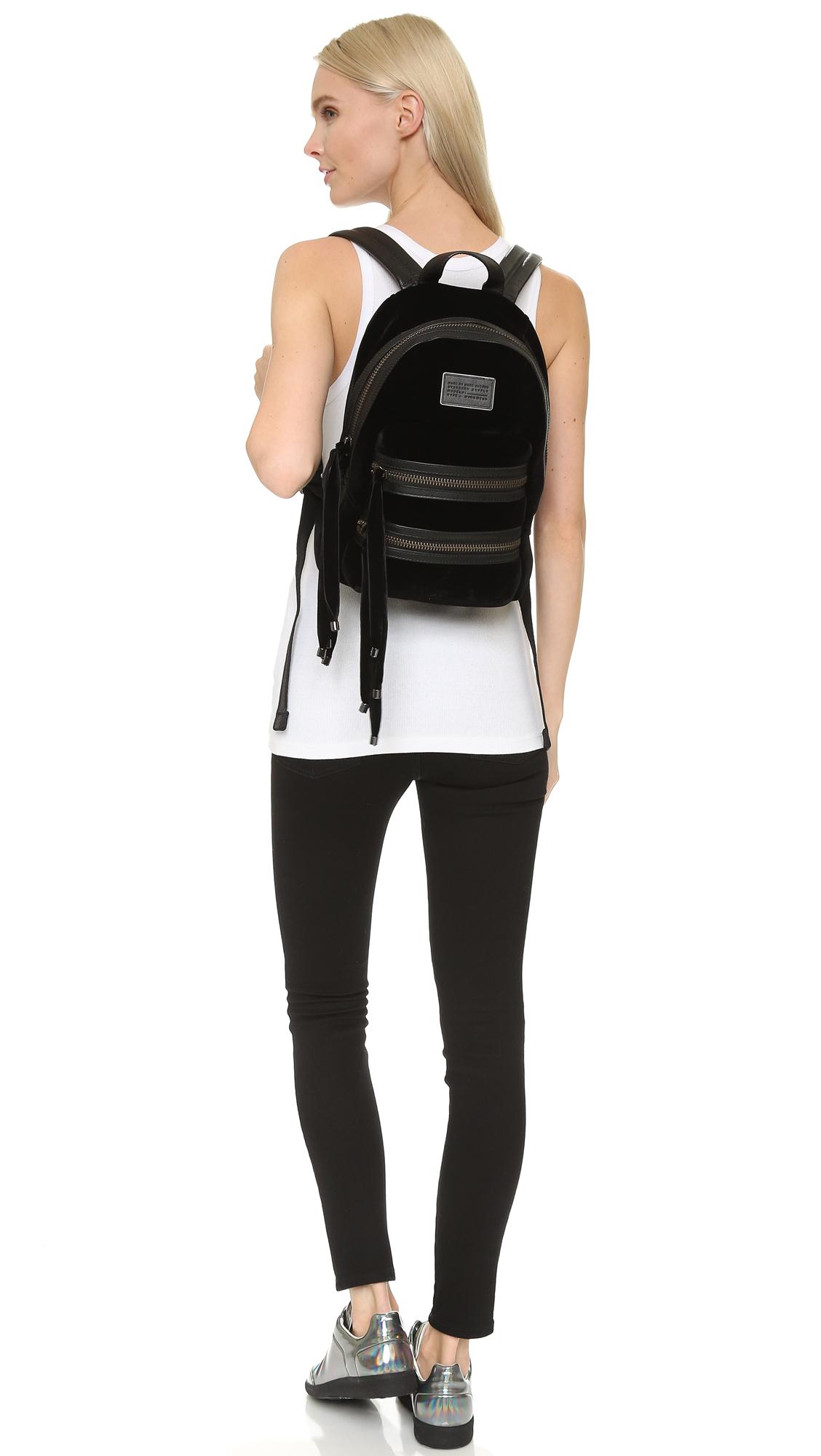 Biker backpack - Schwarz Marc Jacobs ecDkIvRe1