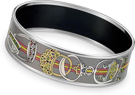 Hermes Concours Detriers Bracelet in Gray - Lyst