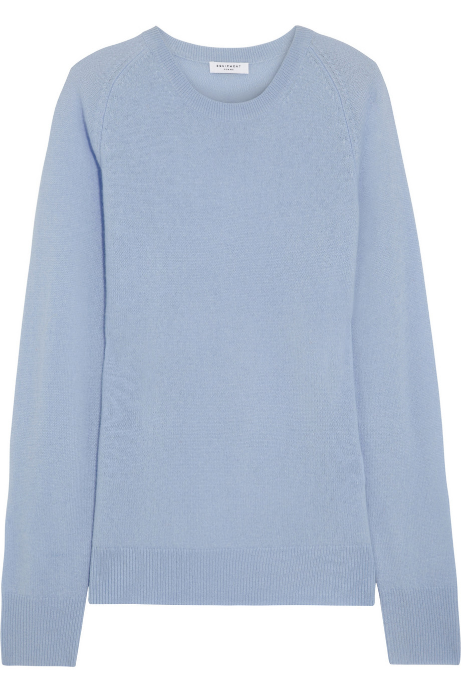 Equipment Sloane Cashmere Sweater in Blue | Lyst