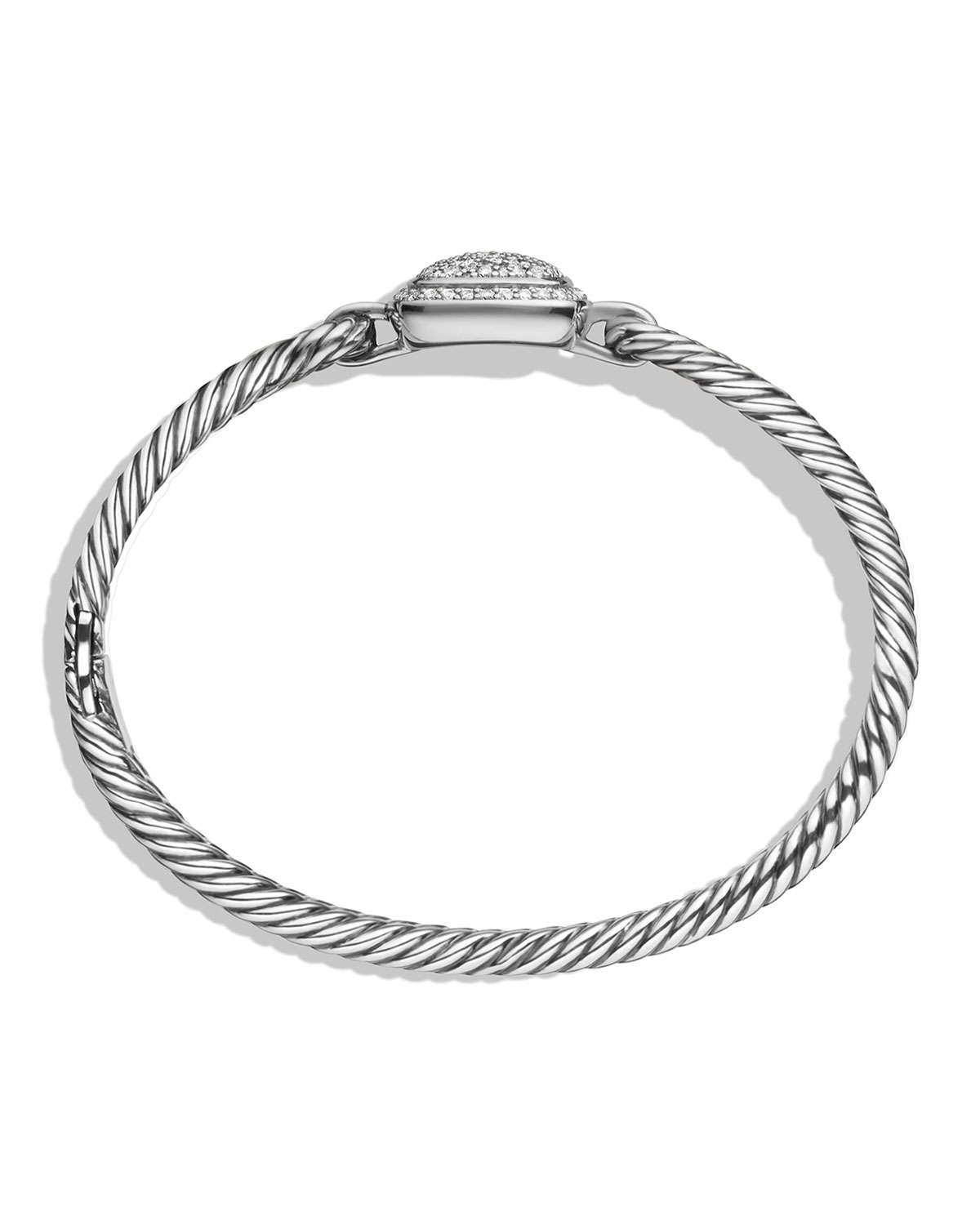 David Yurman Charm Bracelet: David Yurman Albion Bracelet With Diamonds In Metallic