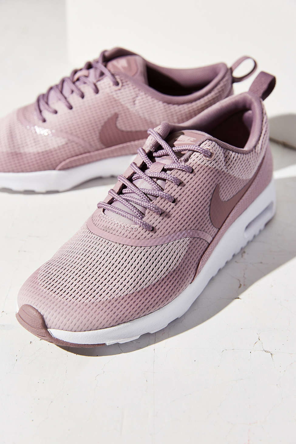 innovative design ec12c e8f83 Nike Air Textile Max Lyst Sneaker Purple Thea in AxpZwT