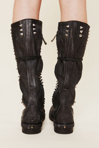 Lyst Jeffrey Campbell Studded Seattle Love Boot In Black