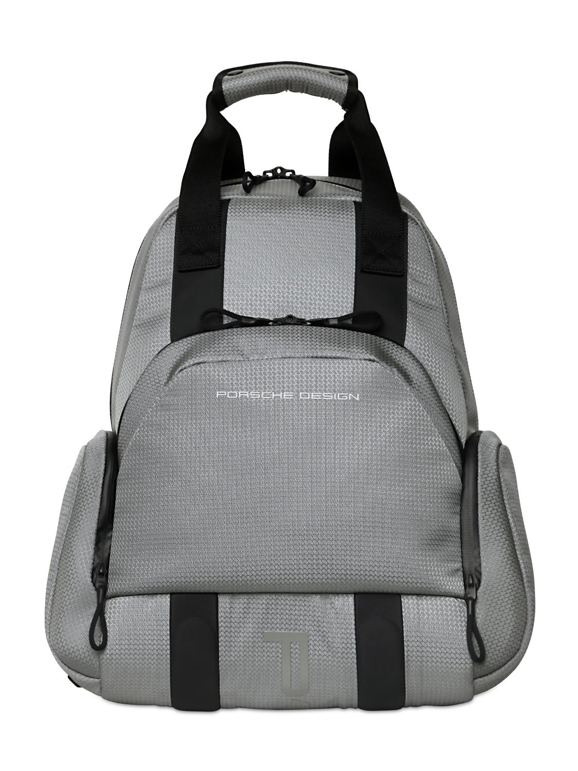 856040a37801 Porsche Design Water Resistant Nylon Jacquard Backpack in Metallic ...