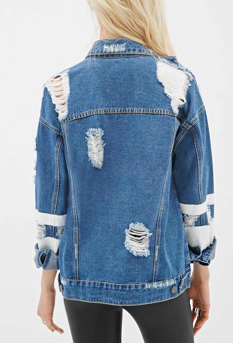 3 4 Sleeve Denim Jacket