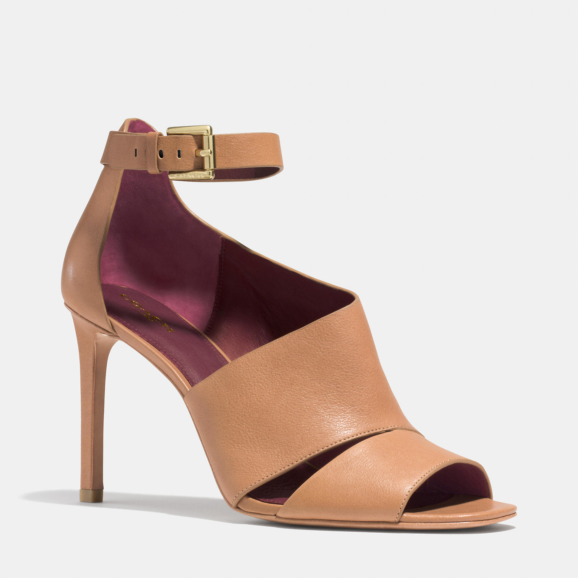 Lyst - Coach Manhattan Heel in Brown