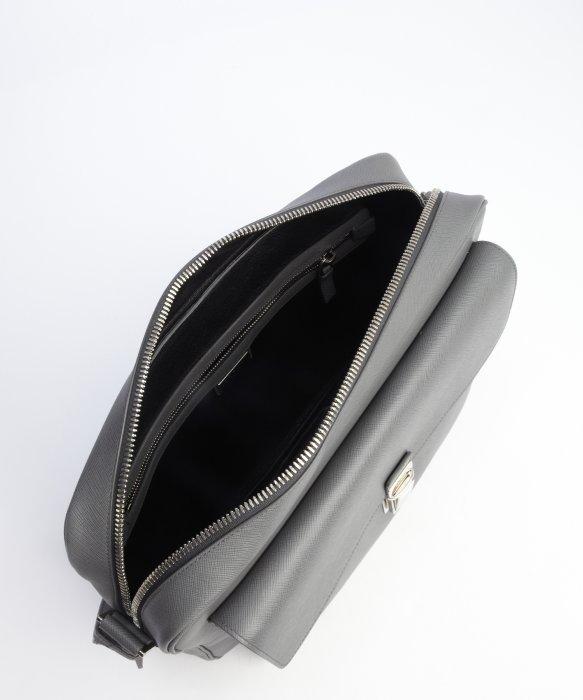 small pink prada handbag - Prada Grey Saffiano Leather Messenger Bag in Gray for Men (grey ...