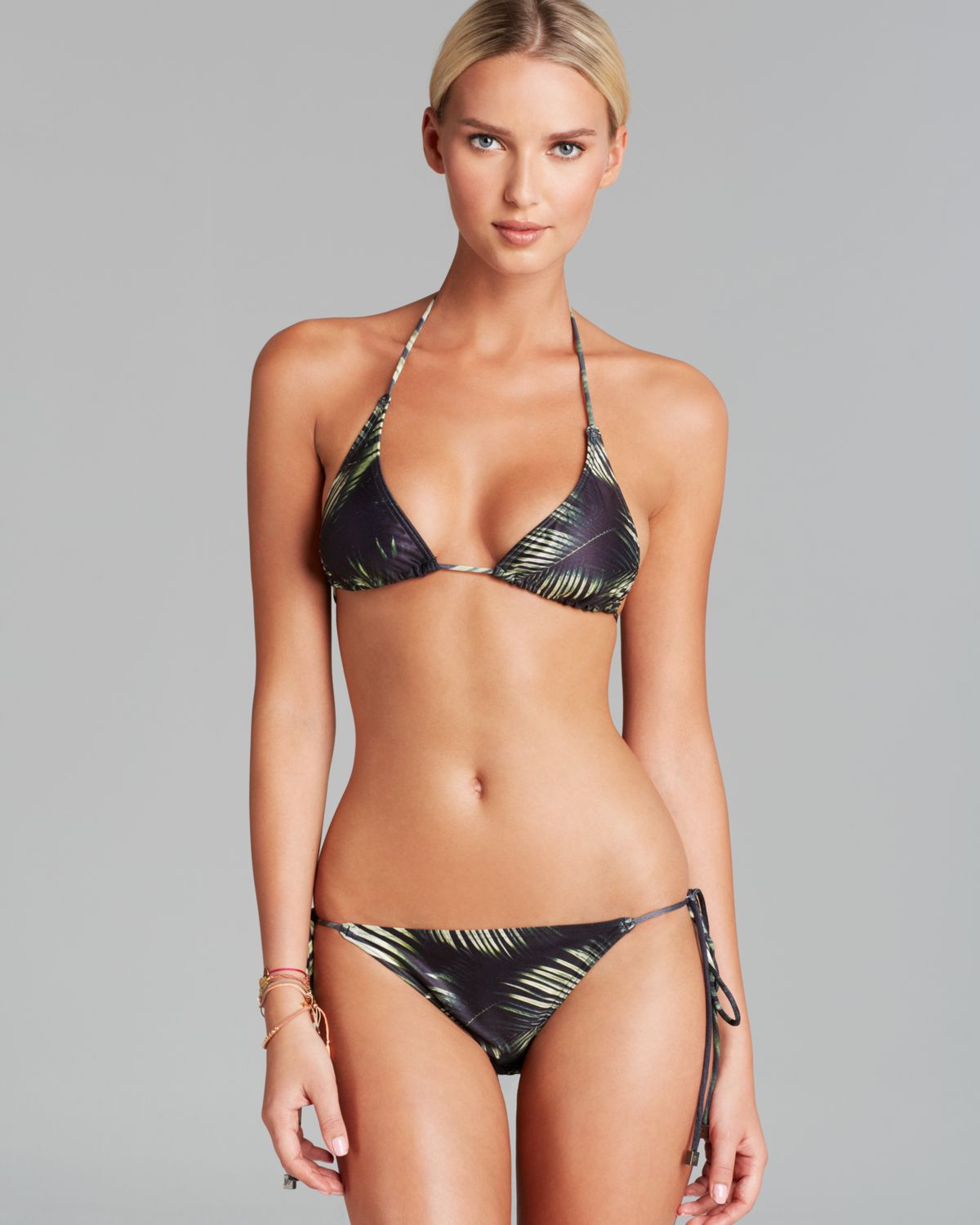 We are handsome The Pantera String Bikini Set
