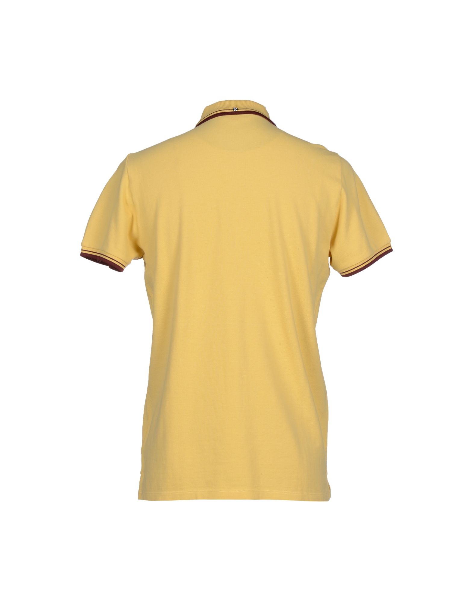 Ben Sherman Polo Shirt In Yellow For Men Lyst