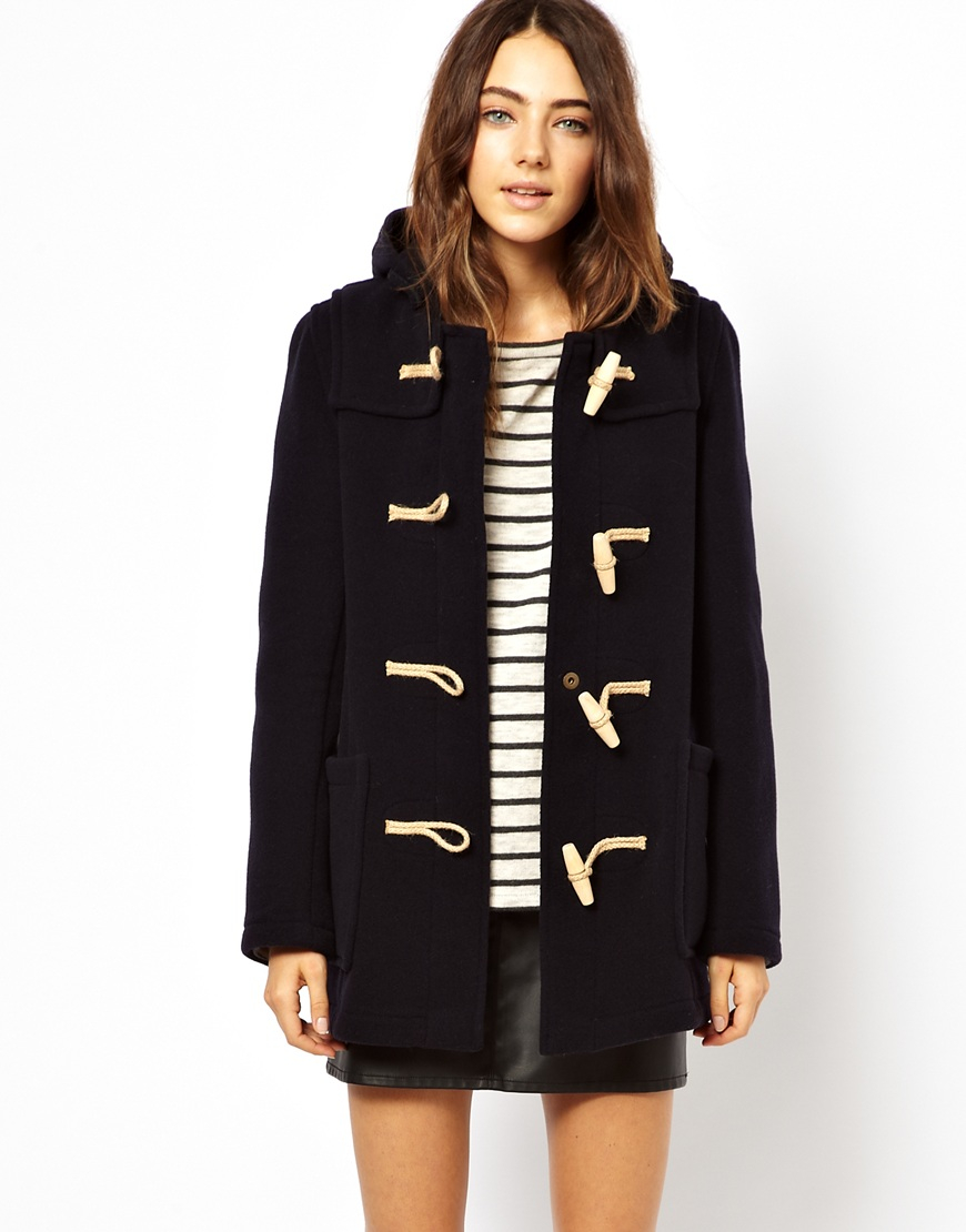 Womens Gloverall Duffle Coat