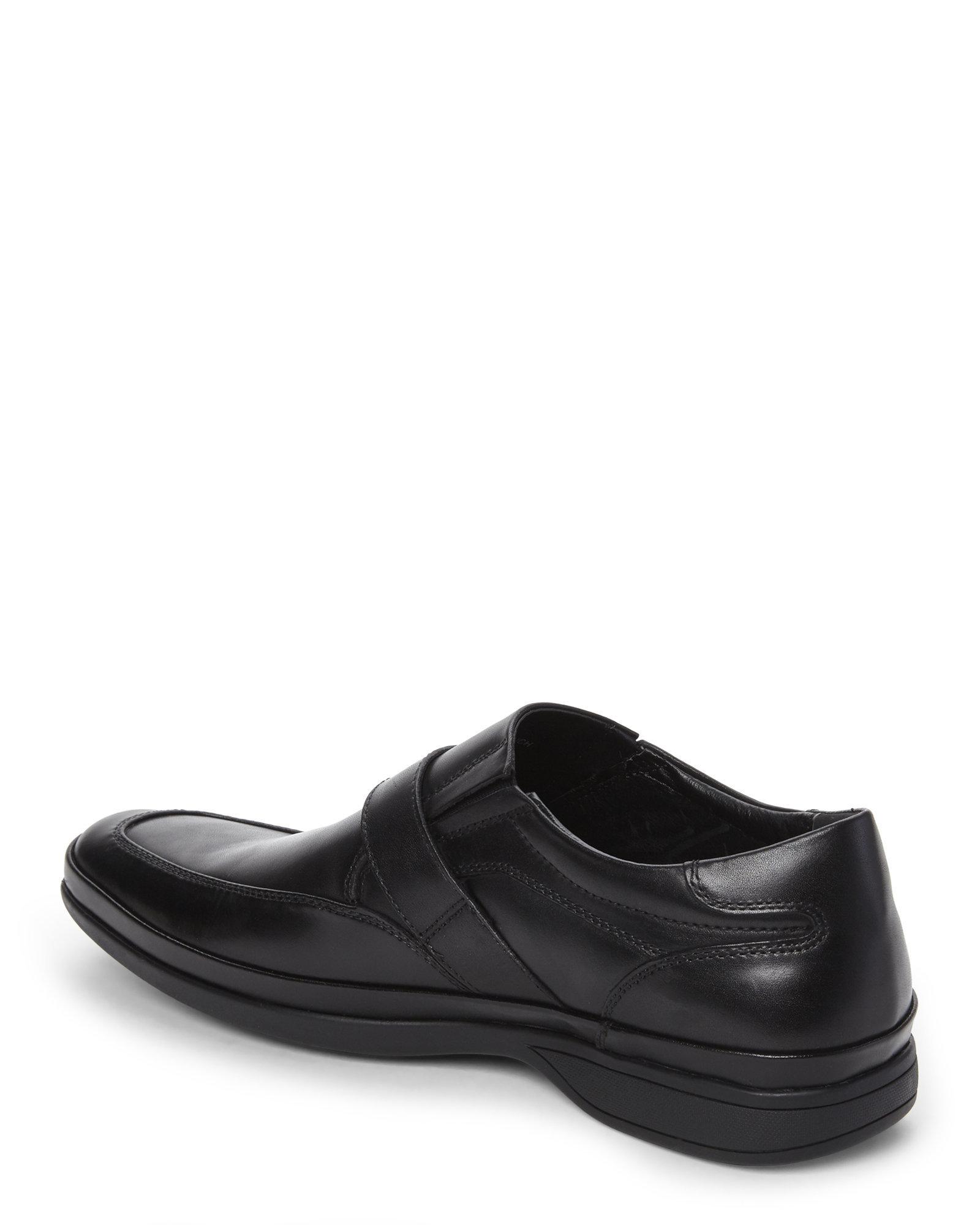 kenneth cole reaction black proud brunch slip on shoes in