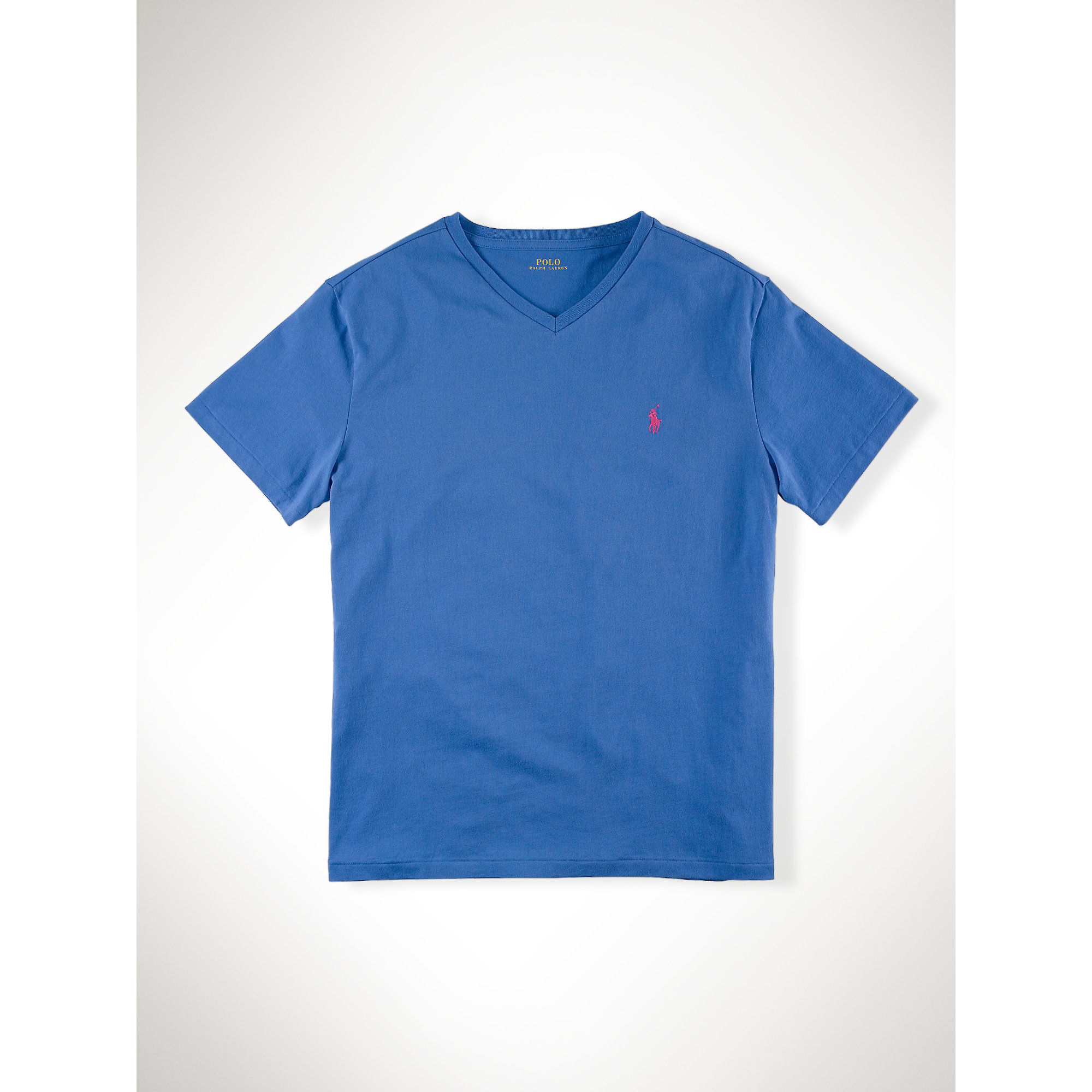 Lyst Polo Ralph Lauren Classic Fit V Neck T Shirt In