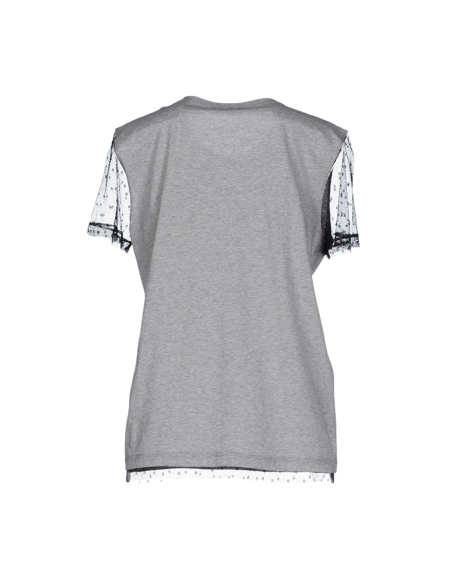 Lyst red valentino t shirt in gray for Red valentino t shirt