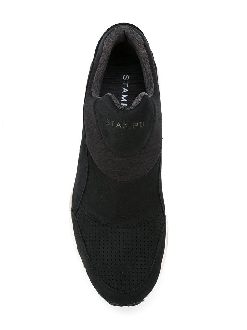 e41b0a946c434c PUMA Laceless Trainers in Black for Men - Lyst