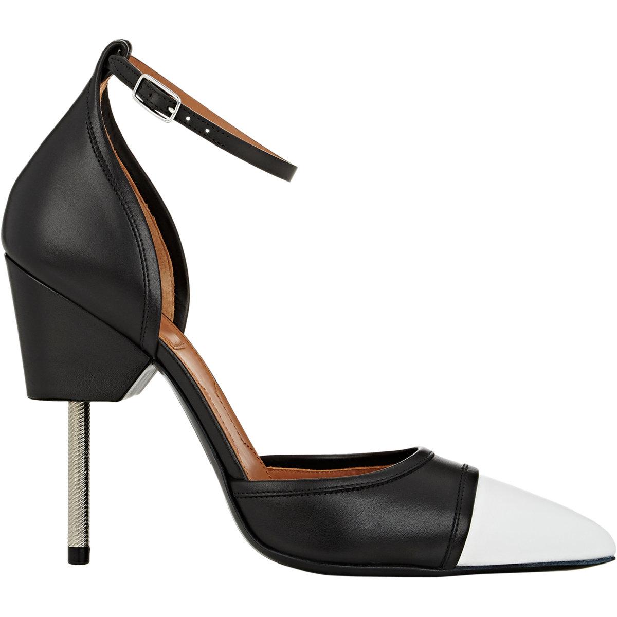 2efe30b51b6 Lyst - Givenchy Screw-heel D orsay Pumps in Black