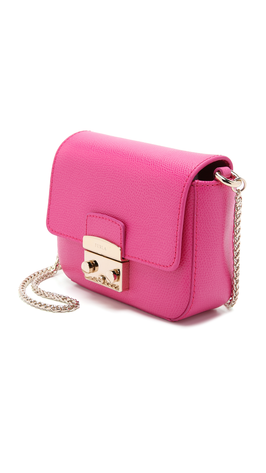y Bag Mini Metropolis Cross Furla púrpura Body rosa w64q6