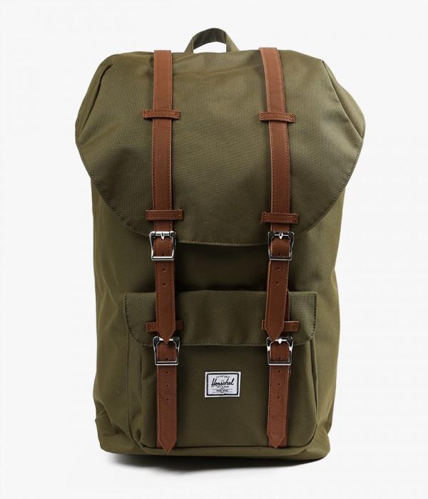 Herschel Supply Co. Little America Backpack in Green for Men - Lyst f06a5a3c0a82b