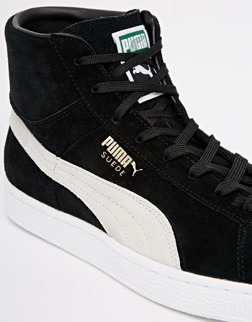 Mid For Puma Suede Classics Men Black Lyst DeW9IEH2Y