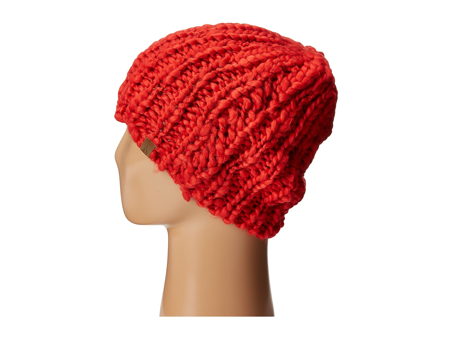 74964b1cf2e65 purchase closeout lyst volcom wanderer beanie in red 0adc9 a95f1 36a68 b12af