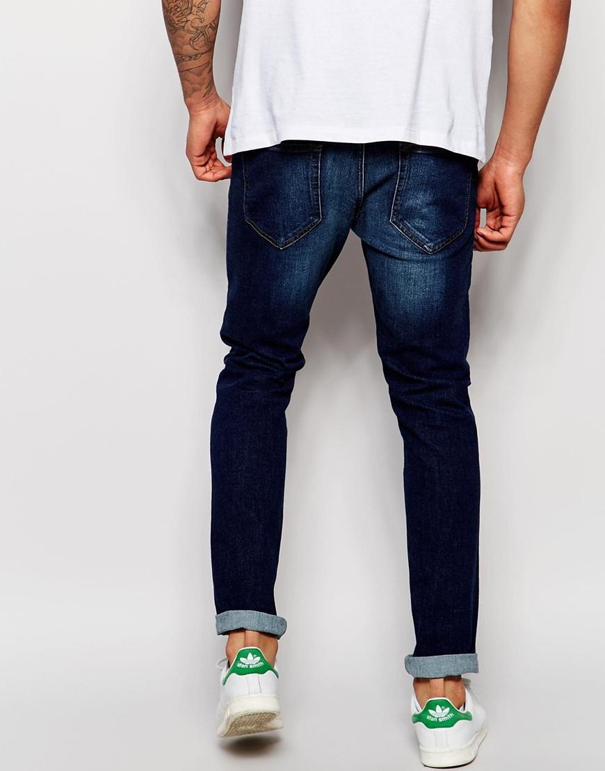 Dr. denim Jeans Clark Slim Fit Dark Blue Wash in Blue for Men   Lyst