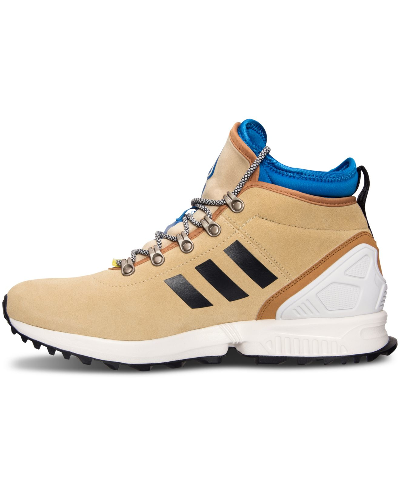 9d8b5551a9d3 wholesale adidas big boys zx flux casual sneakers from finish line 82330  59f09  inexpensive lyst adidas mens originals zx flux winter sneakerboots  from ...