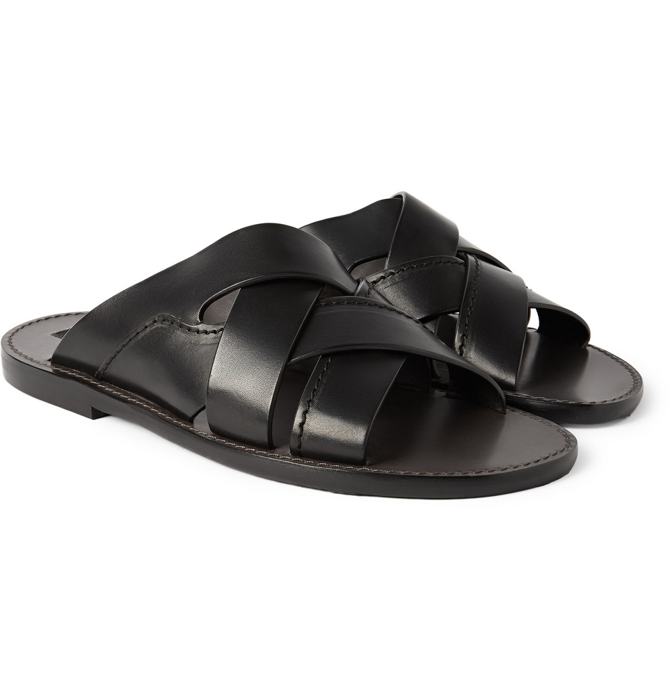 Dolce & Gabbana Leather Sandals UajetWg