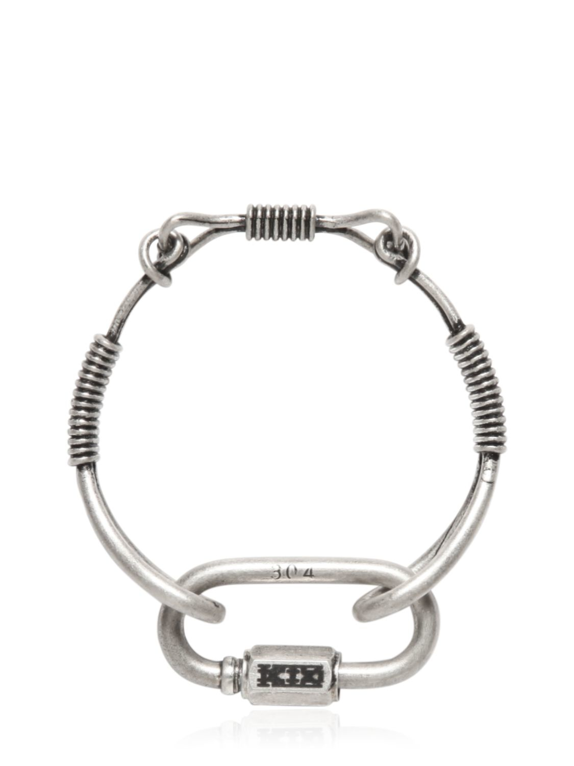 KTZ coil twisted bracelet - Black
