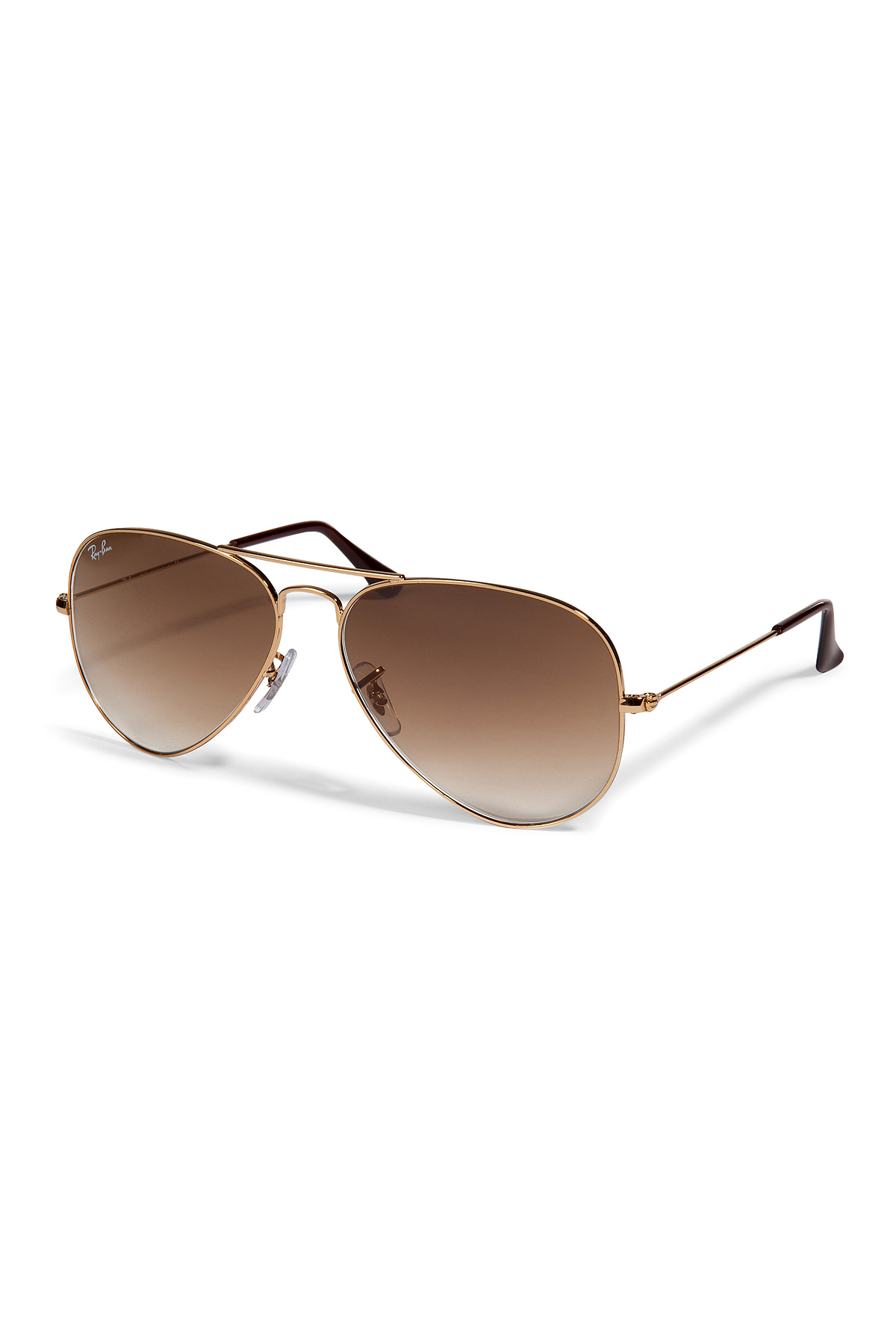 Ray Ban Metal Aviator Gradient Sunglasses Multicolor In