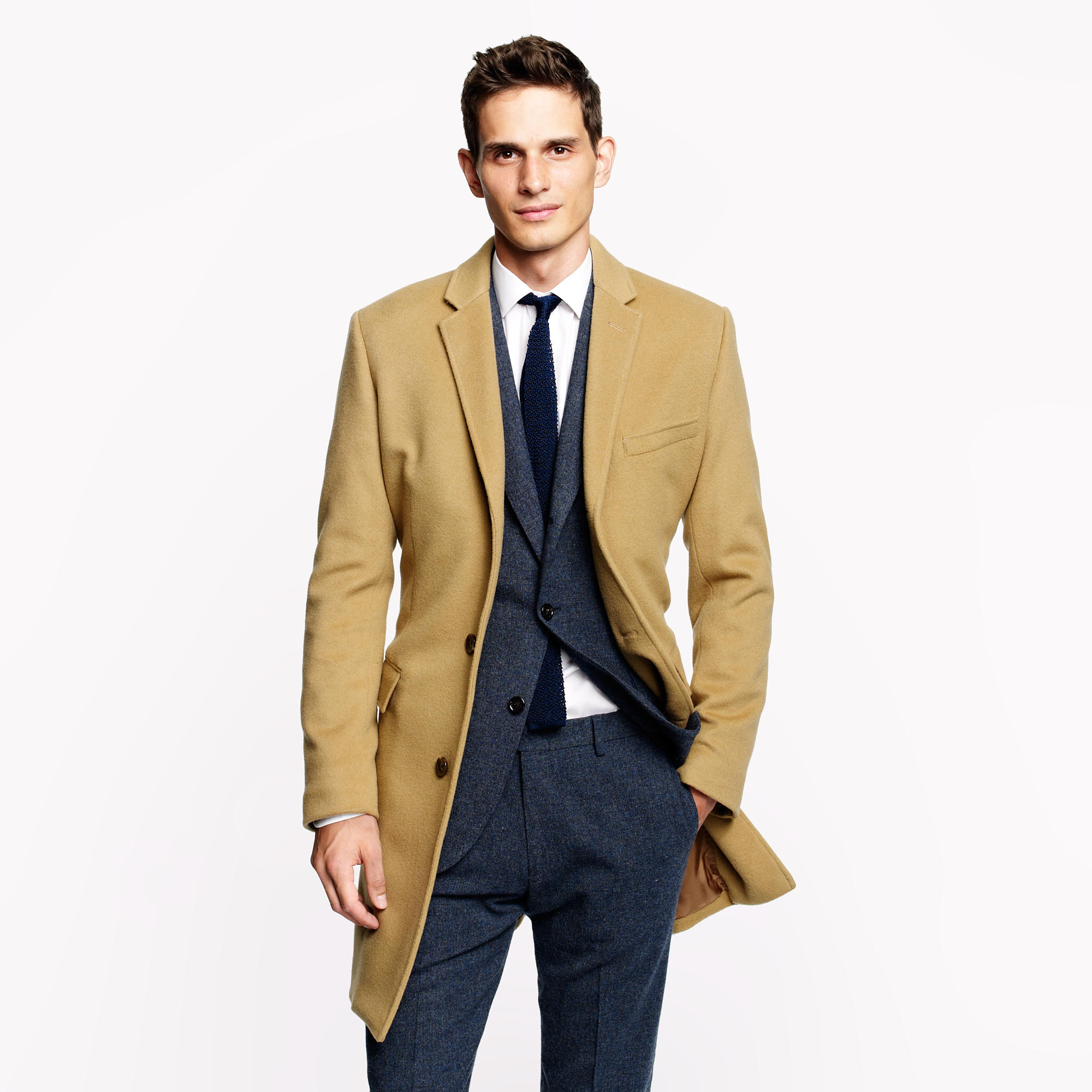 3baa5a97ff0 J.Crew Ludlow Topcoat In Wool-cashmere With Thinsulate in Natural ...