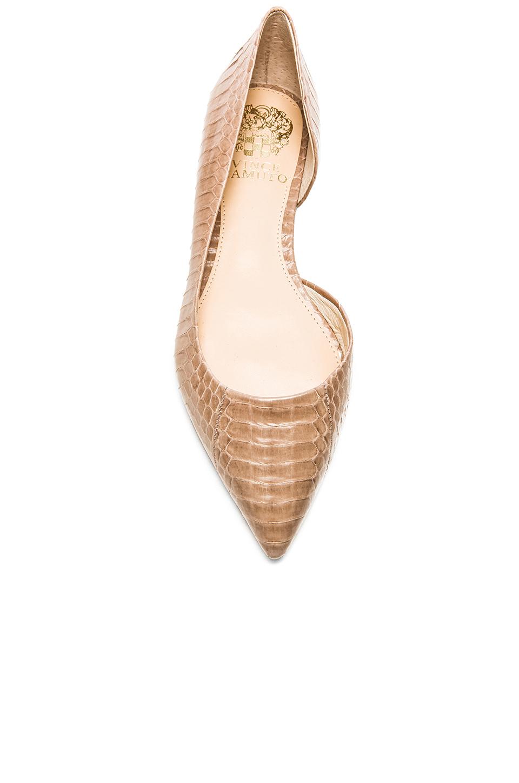 Lyst Vince Camuto Etilla Snake Embossed Leather Ballet
