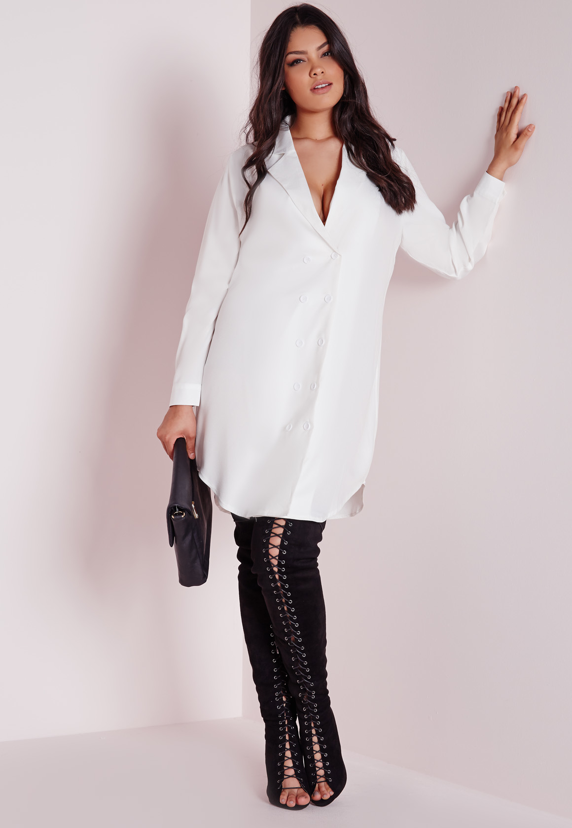 Plus Size White Dress Shirts - Dress Foto and Picture