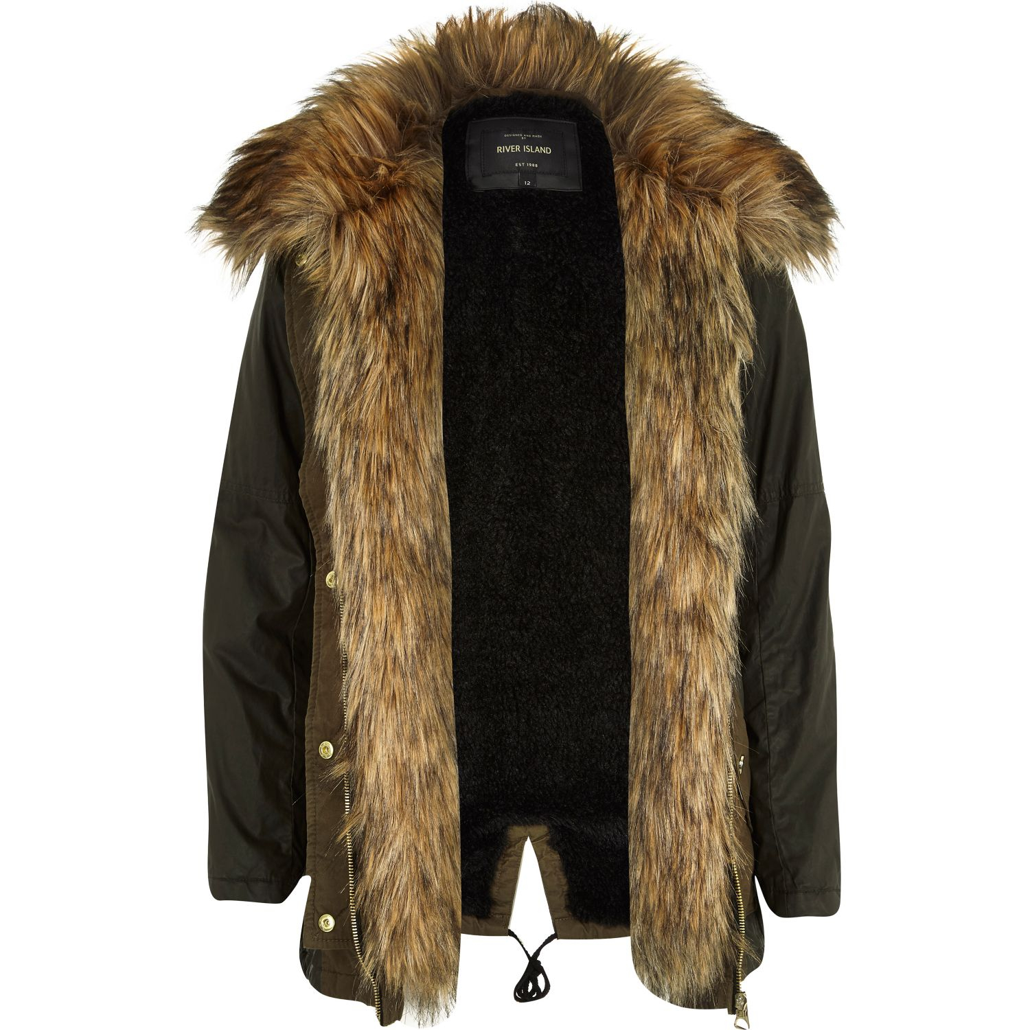 Parka Jacket With Fur Lining Jackets Review