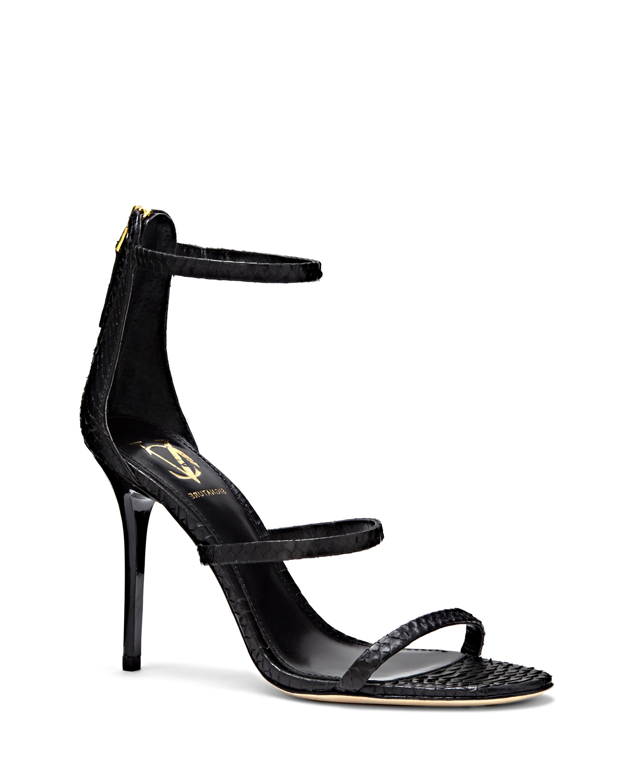0fa650f8b30 Lyst - Vince Camuto Vc Signature Bayron – Triple-strap Heeled Sandal ...