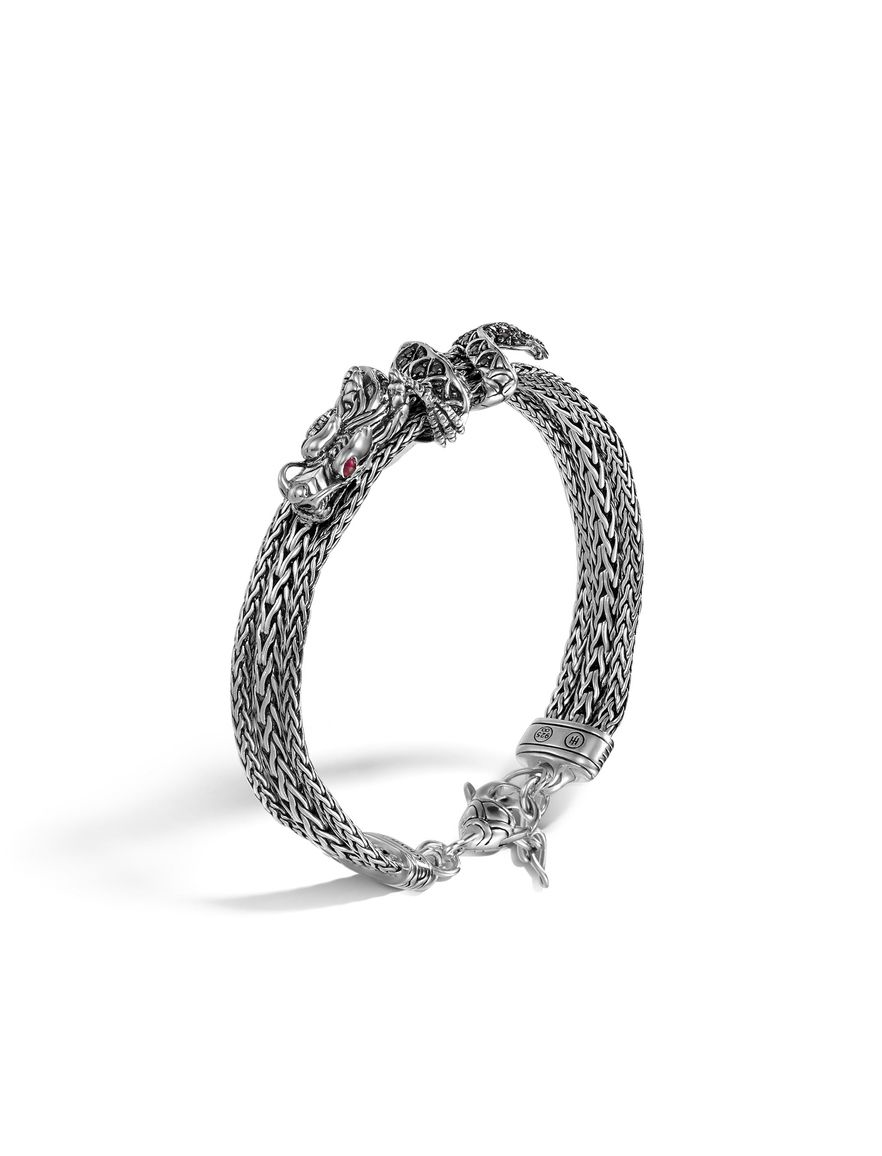 John Hardy Legends Naga Baroque Pearl Three-Row Bracelet uA8MyHRsC