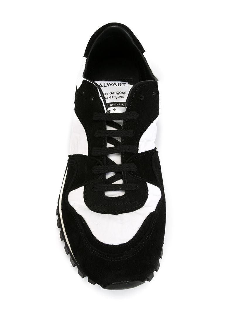 bd9b3c3e657513 Comme des Garçons Spalwart X Cdg Cdg Panelled Sneakers in Black - Lyst