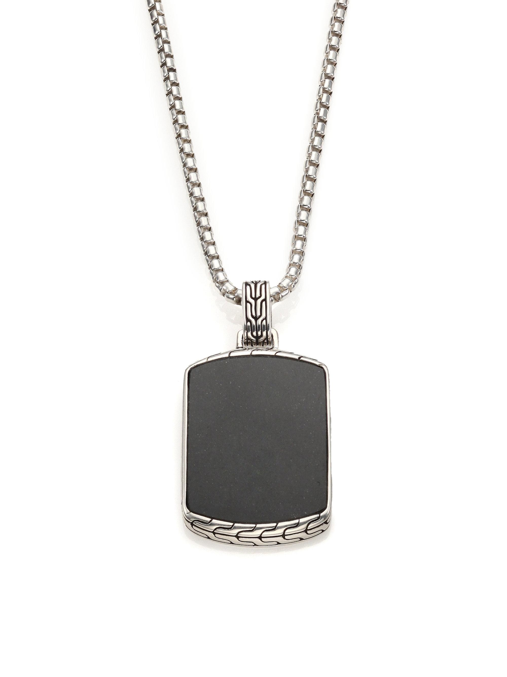 John Hardy Classic Chain Batu Black Jade Amp Sterling Silver