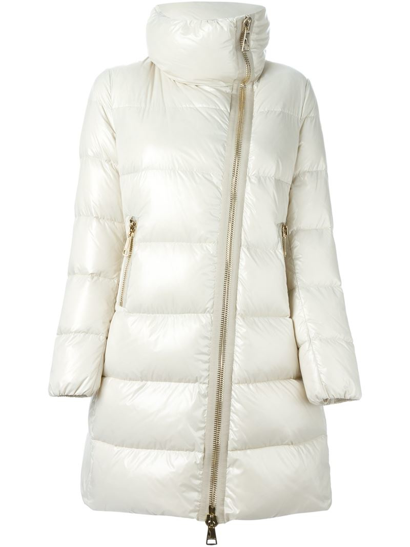 Moncler Joinville Padded Moncler- Ivory coat