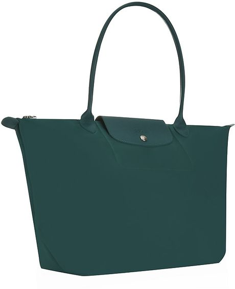Longchamp Le Pliage Losange Handbag in Green (Emerald)