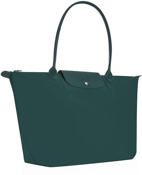 Longchamp Le Pliage Losange Handbag in Green (Emerald)