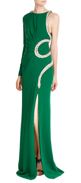 Roberto Cavalli Assymetrical Dress