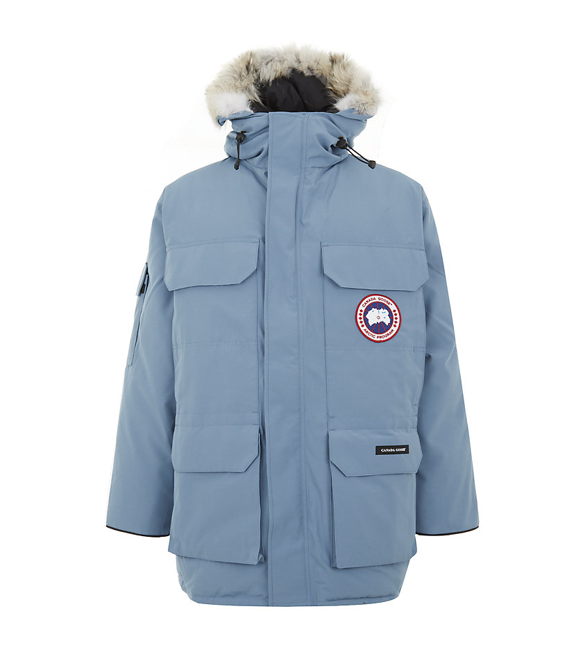 61a0d6bc3882 ... norway canada goose expedition ocean fur hood parka in blue for men  lyst 0b119 5af51