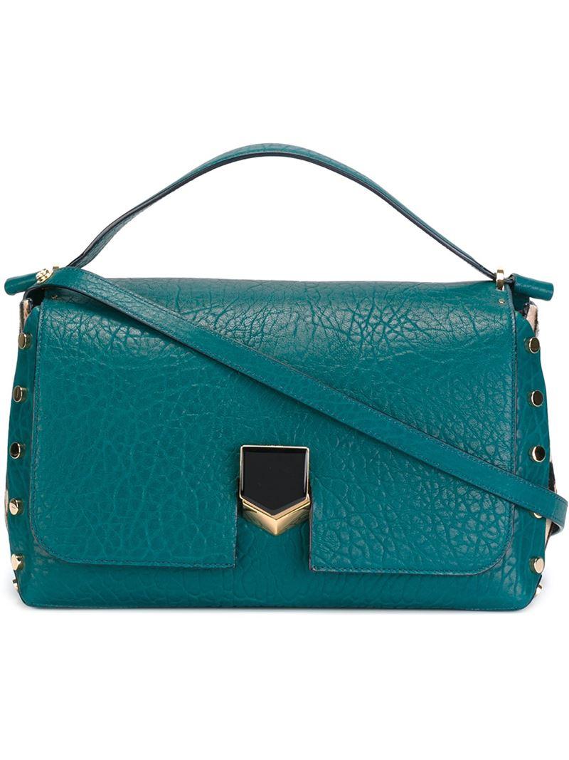 1a15eaca56b6 Lyst - Jimmy Choo  lockett  Tote Bag in Blue