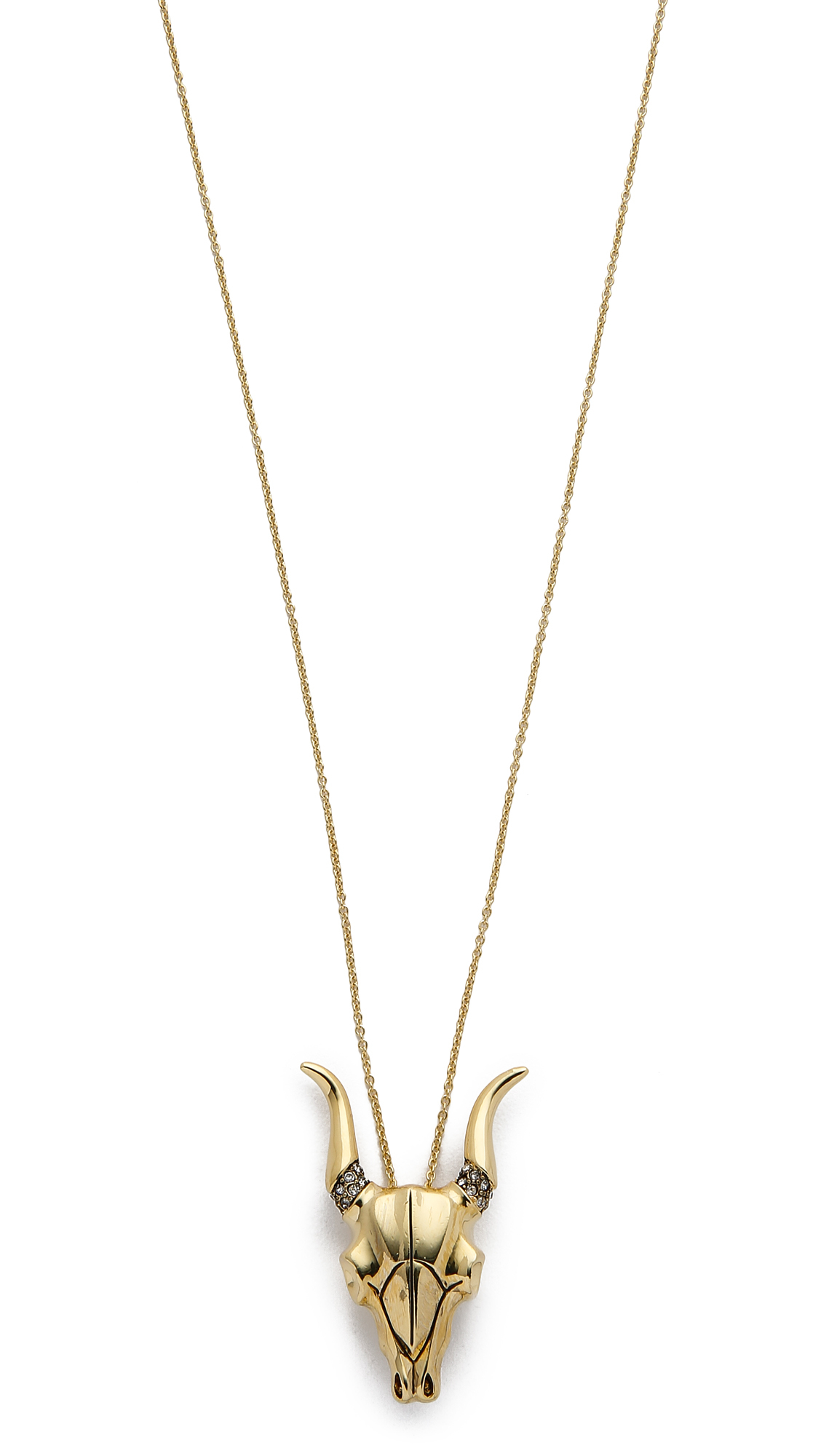 X REVOLVE Nuri Pendant Necklace in Metallic Gold House Of Harlow Hxgss